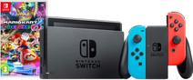 Nintendo Switch Red/Blue Mario Kart Bundle