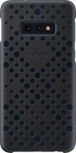 Samsung Galaxy S10e Pattern Back Cover Zwart/Groen