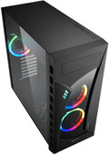 Sharkoon Night Shark RGB Midi ATX Tower Black