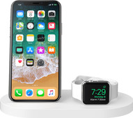Belkin Boost Up Wireless Charger with USB A Port iPhone / Apple Watch White