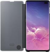 Samsung Galaxy S10 Plus Clear View Cover Book Case Black