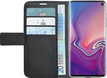 Azuri Wallet Magneet Samsung Galaxy S10e Book Case Zwart
