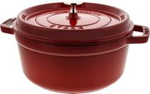Staub Round Dutch Oven 24cm Cherry