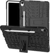 Just in Case Rugged Hybrid Apple iPad Pro 11 Inch (2018) Back Cover Zwart