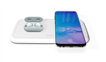 ZENS Dual Fast Wireless Charger 10W White