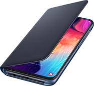 Samsung Galaxy A50 Wallet Book Case Black / Blue