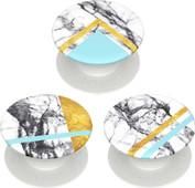 PopSockets Minis White Marble Glam