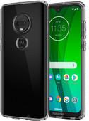 Spigen Liquid Crystal Motorola Moto G7 Back Cover Transparent