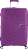 American Tourister Soundbox Expandable Spinner 77cm Purple Orchid