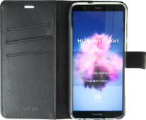 Valenta Booklet Gel Skin Huawei P Smart Book Case Black