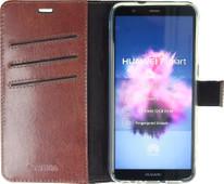 Valenta Booklet Gel Skin Huawei P Smart Book Case Brown