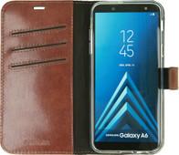 Valenta Booklet Gel Skin Samsung Galaxy A6 (2018) Book Case Brown