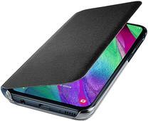 Samsung Galaxy A40 Wallet Cover Book Case Black