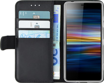 Azuri Wallet Magneet Sony Xperia L3 Book Case Zwart