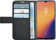 Azuri Wallet Magneet Samsung Galaxy A70 Book Case Zwart