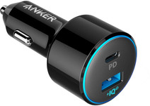Anker PowerDrive II Car charger 2x Usb with 1x Power Delivery
