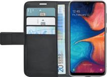 Azuri Wallet Magnet Samsung Galaxy A20e Book Case Black