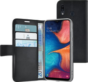 Azuri Wallet Magneet Samsung Galaxy A20e Book Case Zwart