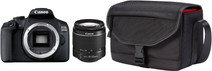 Canon EOS 2000D + 18-55mm f/3.5-5.6 DC III + Bag + 16GB Memory Card