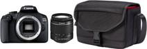 Canon EOS 2000D + 18-55mm f/3.5-5.6 DC III + Tas + 16GB