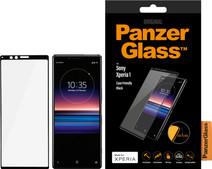 PanzerGlass Sony Xperia 1 Screenprotector Glas Zwart