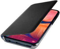 Samsung Galaxy A20e Wallet Book Case Black