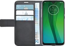 Azuri Wallet Magnet Motorola Moto G7 Book Cover Black