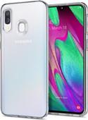 Spigen Liquid Crystal Samsung Galaxy A40 Back Cover Transparent