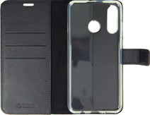 Valenta Booklet Gel Skin Huawei P30 Lite Black Leather