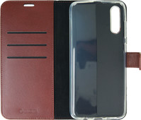 Valenta Booklet Gel Skin Samsung Galaxy A70 Brown Leather