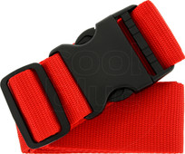 SININ suitcase belt red
