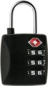 Veripart TSA combination lock 3 digit black
