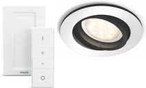 Philips Hue Milliskin Aluminum Round with Dim Switch included