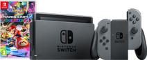 Nintendo Switch Black/Gray Mario Kart Bundle