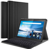 Just in Case Premium Bluetooth Lenovo Tab M10 Keyboard Cover Black QWERTY