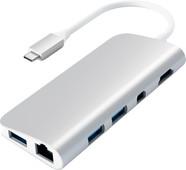 Satechi Type-C Multimedia Adapter Silver