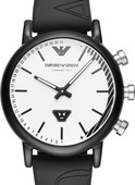 Emporio Armani Connected Zwart/Zilver