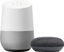 Google Home + Google Home Mini Grijs