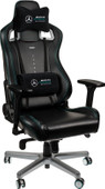 Noblechairs EPIC Mercedes-AMG Petronas Motorsport Edition Gaming Chair Black/Silver
