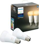 Philips Hue White Ambiance E27 Duo Pack Bluetooth