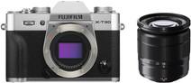 Fujifilm X-T30 Zilver + XC 16-50mm f/3.5-5.6 OIS II Zwart