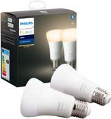 Philips Hue White E27 Bluetooth Duo Pack