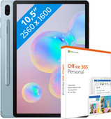 Samsung Galaxy Tab S6 128GB WiFi Blue + MS Office Pro