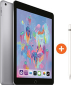 Apple iPad (2018) 32 GB Wifi Space Gray + Pencil