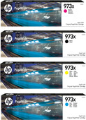 HP 973X Cartridge Combo pack 4-Colors