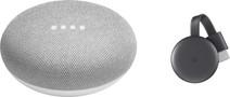 Google Home Mini + Google Chromecast