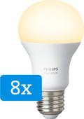 Philips Hue White E27 8-Pack