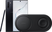 Samsung Galaxy Note 10 Black + Samsung Wireless Charger DUO Pad Black