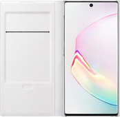 Samsung Galaxy Note 10 LED View Book Case White