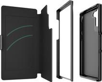 GEAR4 Oxford Samsung Galaxy Note 10 Book Case Black